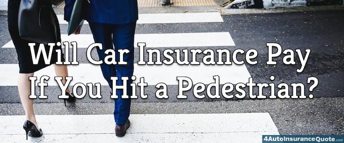 hit a pedestrian