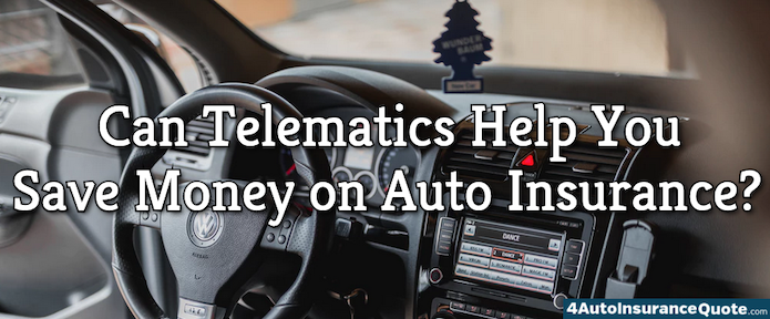 can telematics help you save on auto insurance?