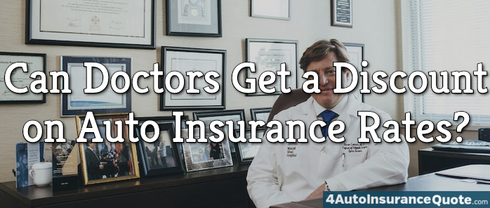 insurance discount for doctors