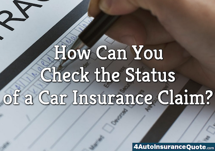 check status of car insurance claim