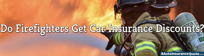 firefighters car insurance discount