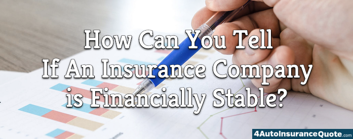 is my insurance company financially stable?