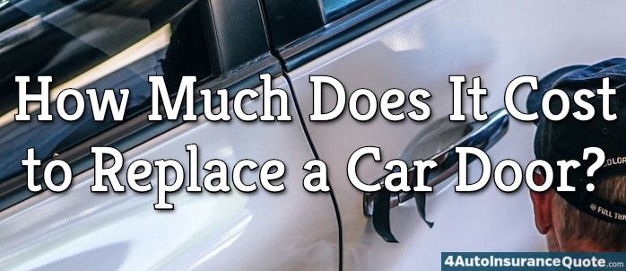 car door replacement costs