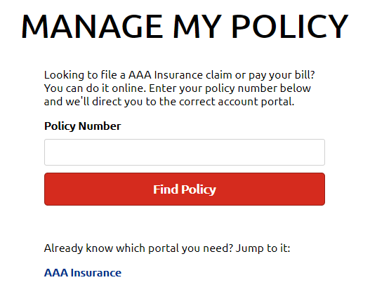 Universal Insurance Company Auto Insurance online policy management