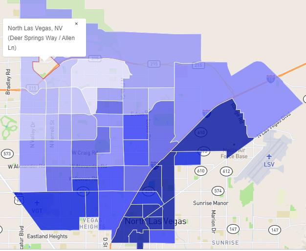 North Las Vegas, Nevada Safest Neighborhoods
