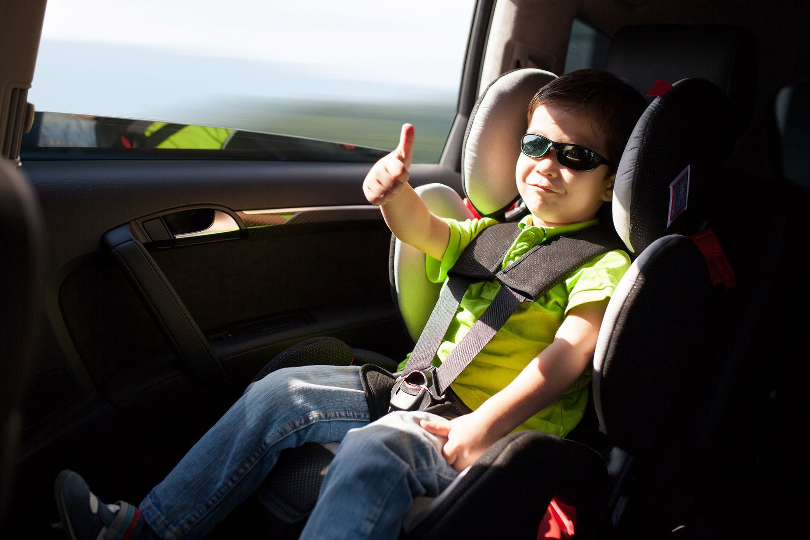 What are the child safety seat laws in Arizona?