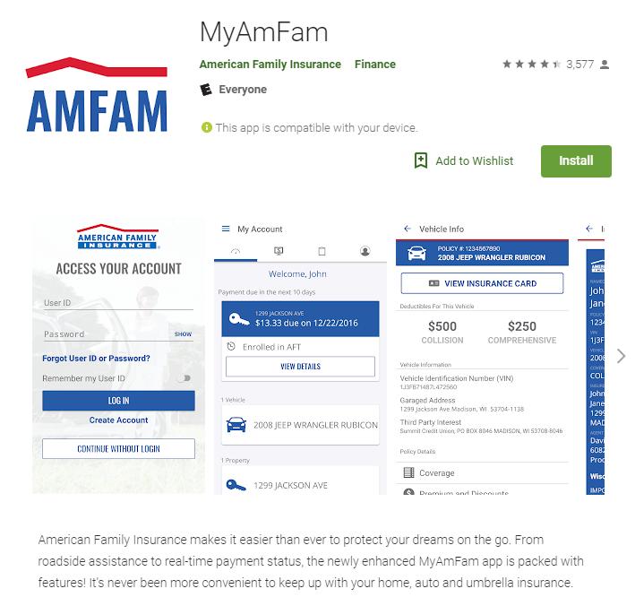 AmFam app