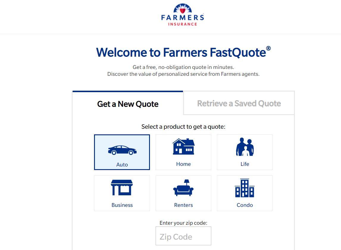 Farmer auto quote