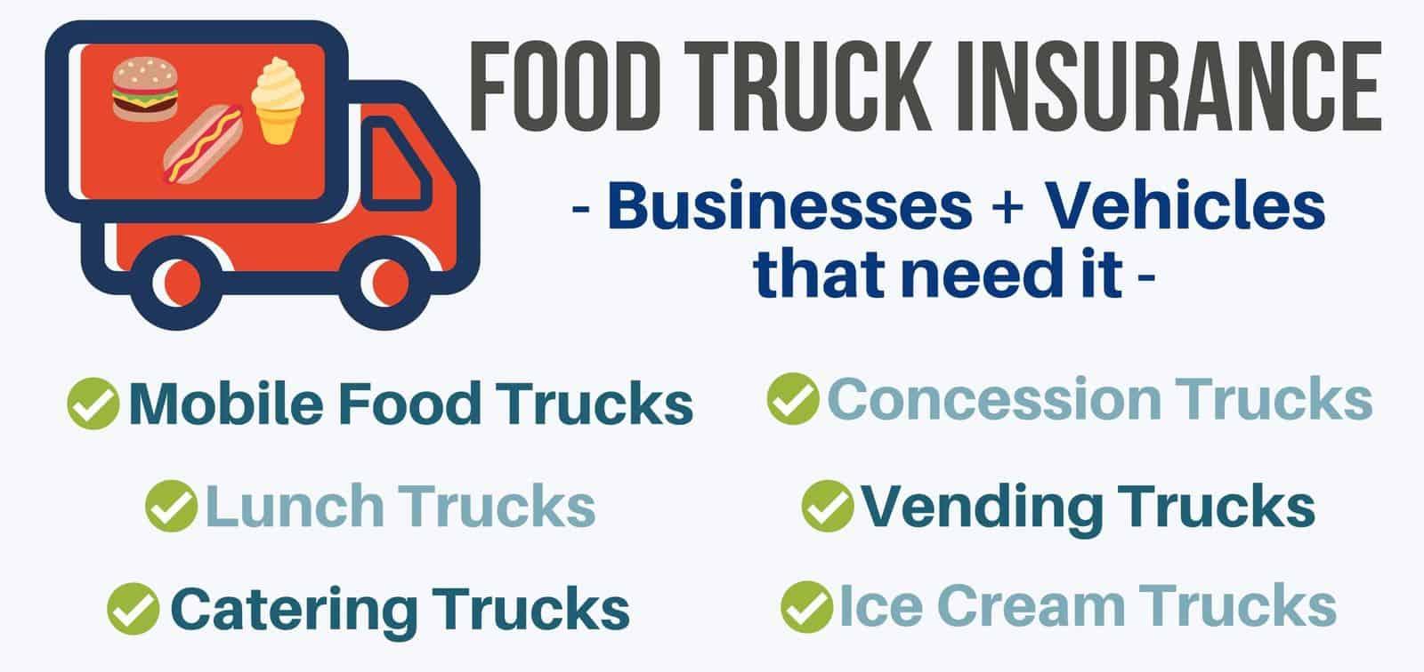 Food truck Insurance- Business that need it