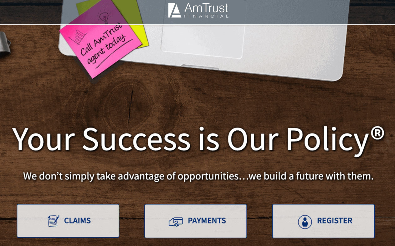 AmTrust Financial Wesco Insurance Home Page
