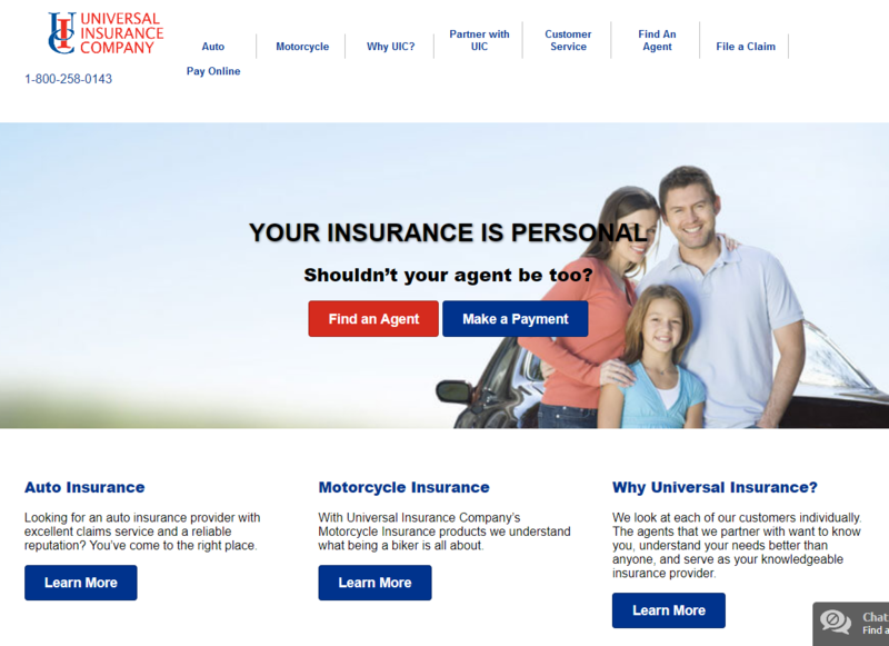 Universal Auto Insurance Review Claims Coverage More