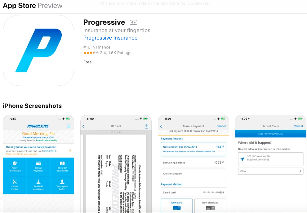 progressive app store mobile app