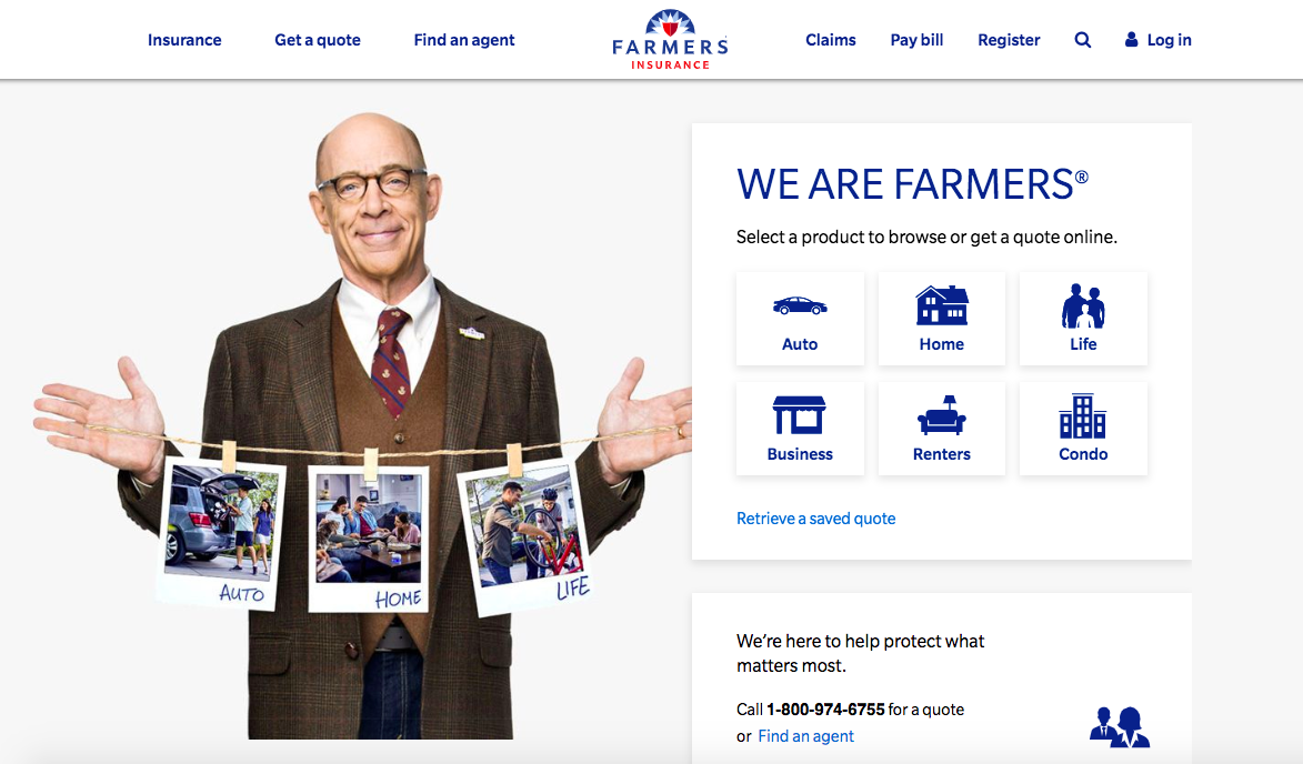 farmers home page