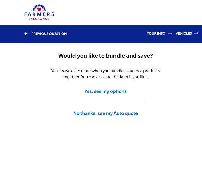 bundle and save farmers quote