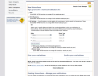 NHTSA Offers Recall Notifications via Email