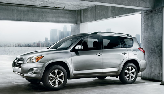 Toyota is recalling almost 800,000 Rav4 models