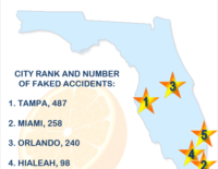 Florida Leads Nation in Auto Insurance Fraud