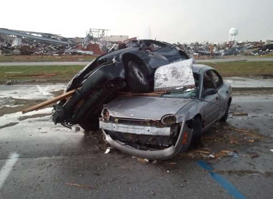 The Joplin tornado may have totalled as many as 18,000 cars.