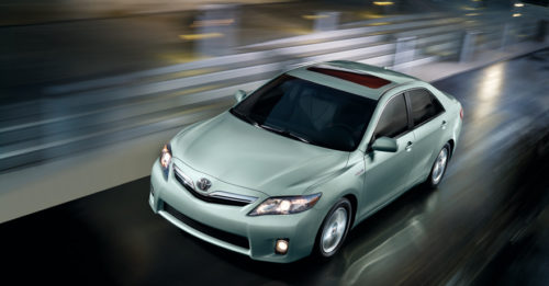 Toyota's Camry is still the top selling car in the United States.