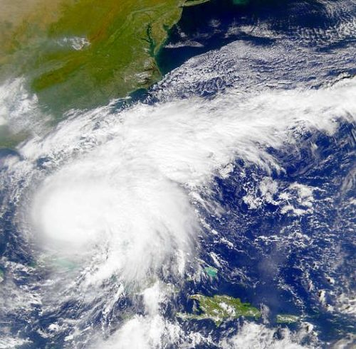 Irene left millions without power as it churned up the eastern seaboard.