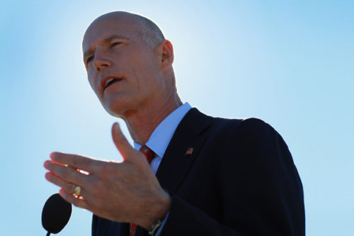 Florida Governor Rick Scott would like to see mandated PIP coverage dropped.