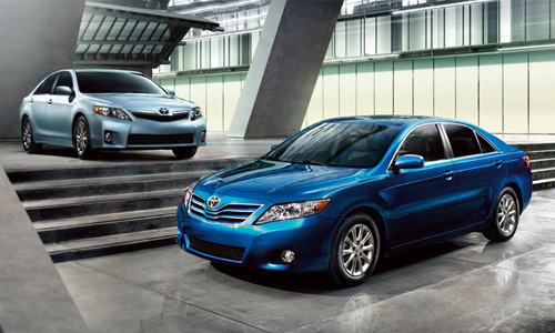 Toyota's Camry is still the best selling passenger car, but year to date sales are down more than seven percent.