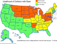 State Farm: Collisions with Deer on the Rise