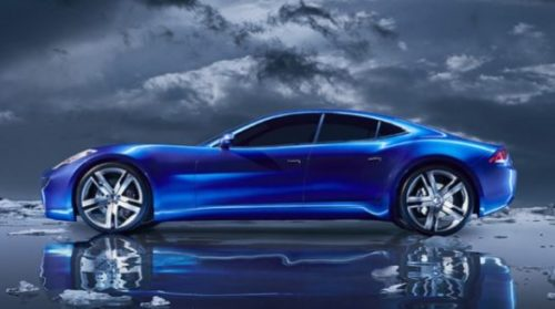 The Fisker Karma is an extended range electric vehicle (EV).