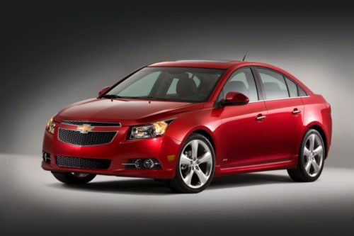 The Chevrolet Cruze is probably the best small car GM has ever made.