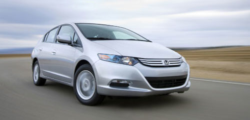 Are hybrids like the Honda Insight safer than gasoline cars?