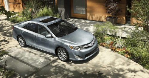 The 2012 Camry will be built in Kentucky and exported to Korea.