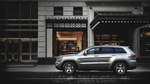 Chrysler has seen strong sales of new Jeep models, like the 2012 Grand Cherokee.