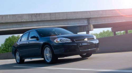 The Chevrolet Impala was the 10th best selling car in January. It gets 30 mpg on the highway.