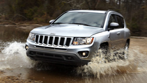 The 2012 Jeep Compass is one of four vehicles being recalled.