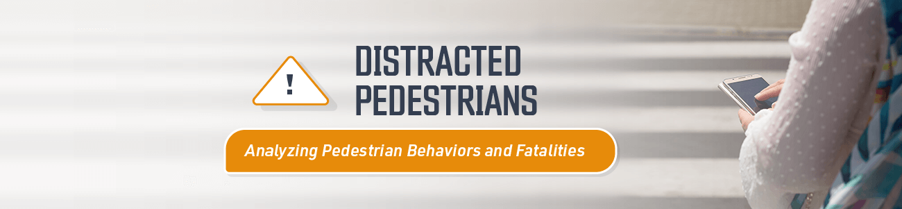 Article about Distracted Pedestrains and anaylzing pedestrian behaviors and fatalities.