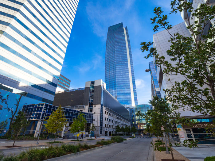 Devon Energy Tower in Oklahoma City