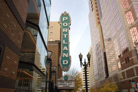 Arlene Schnitzer Concert Hall in Portland, Oregon USA.