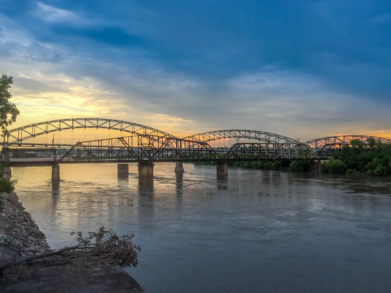 Buck O'Neil Bridge in Kansas City, Kansas