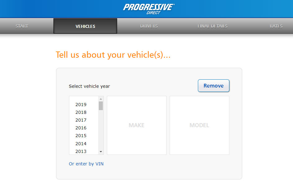 Progressive auto insurance quote auto information