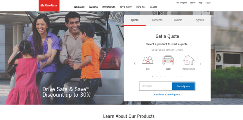 State Farm Home Page