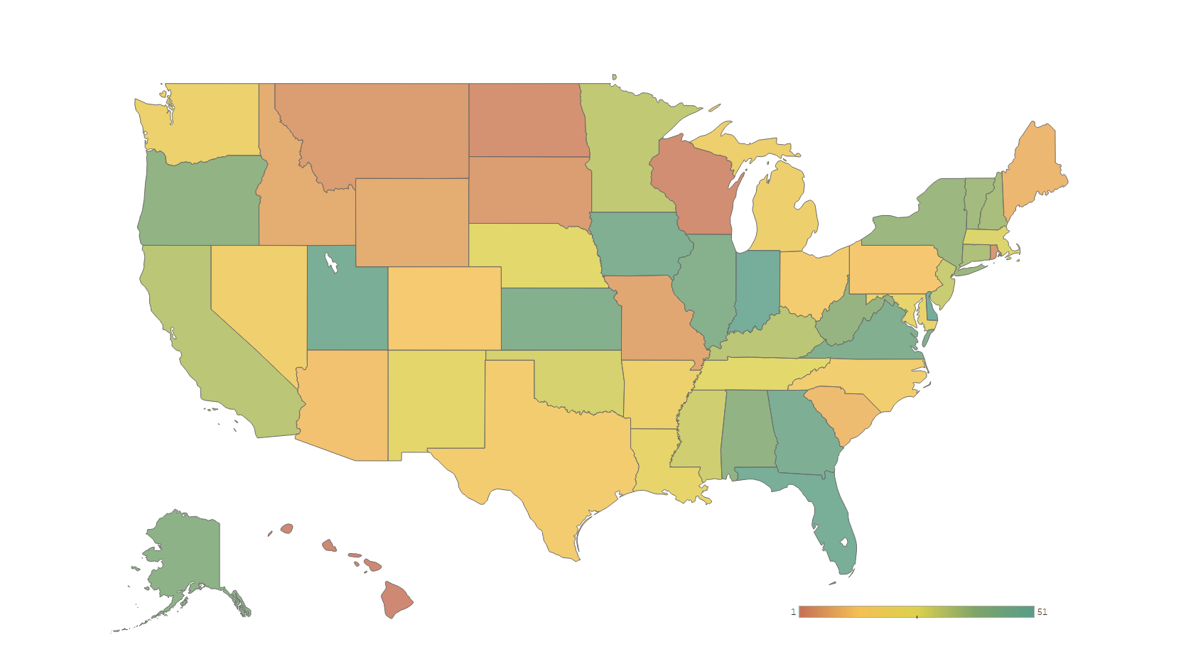 Most Dangerous Drunk Driving States
