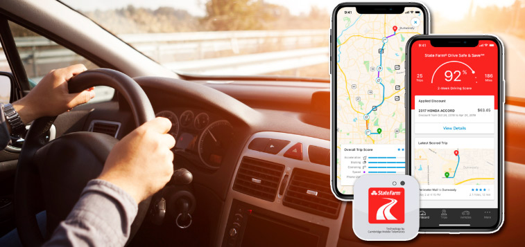 Picture of State Farm's Drivewise App