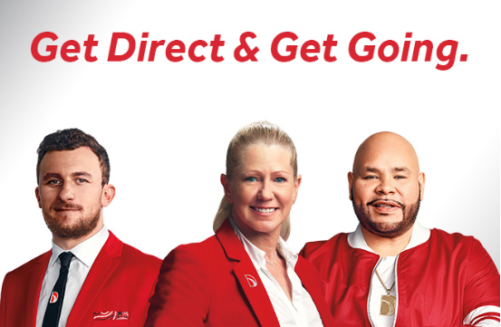 Johnny Manziel, Tanya Harding, and Fat Joe for Direct Auto Insurance