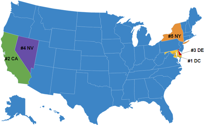 top-5-texting-ticket-states-on-map