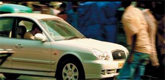 Bourne Supremacy Hyundai Sonata
