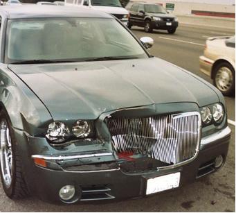 Chrysler 300C Wreck