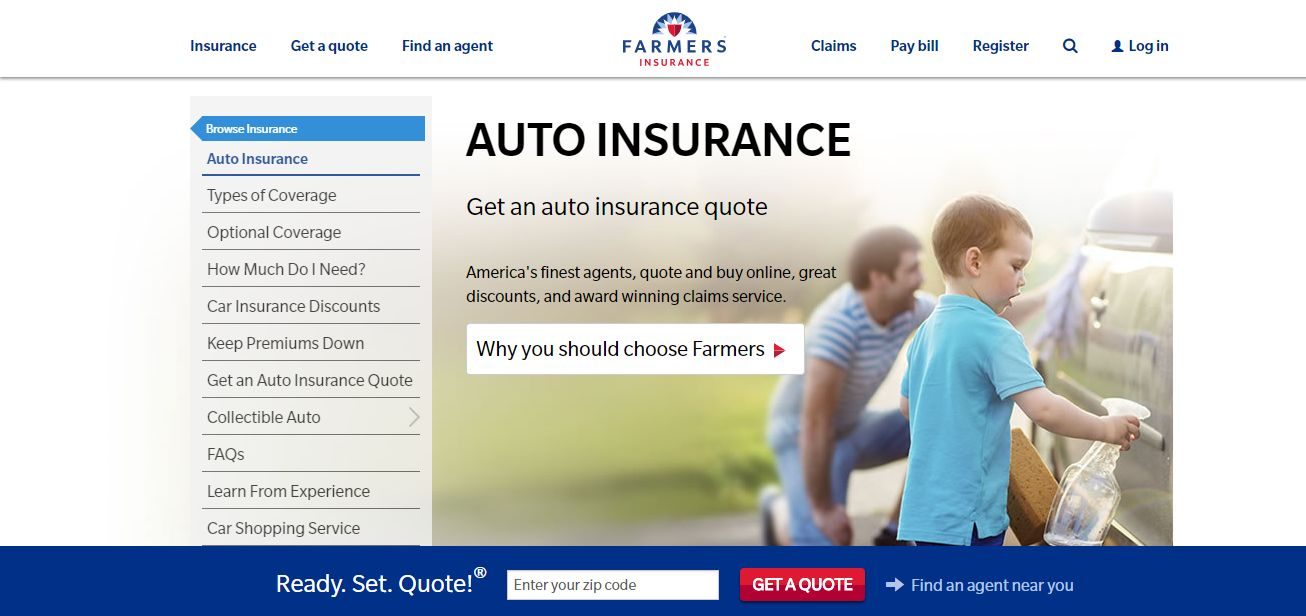 Farmers Insurance Quote   How To A Get Farmers Auto Insurance Online Quote Photos
