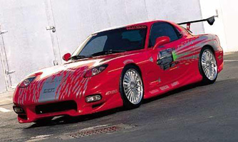 Fast and Furious Mazda RX-7