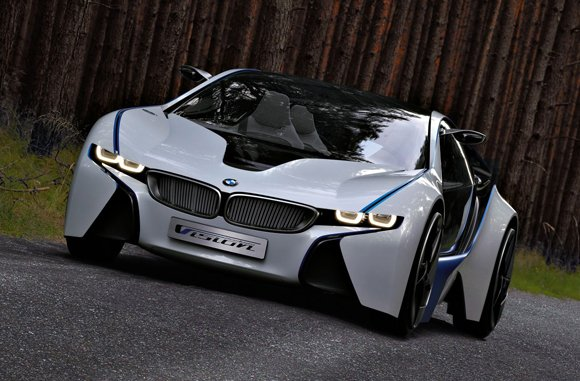 Mission Impossible BMW i8 Vision Efficient Dynamics Concept Car