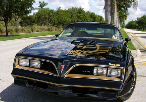 Pontiac Trans Am from Smokey and the Bandit